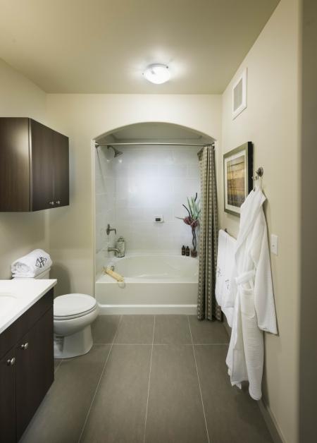 Bathroom at Cambridge Park Apartment