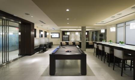 Game Room at Cambridge Park Apartment