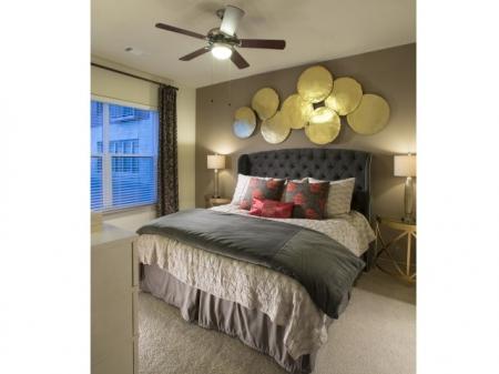 Bedroom at Cambridge Park Apartment