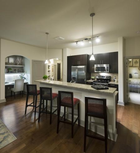 Kitchen at Cambridge Park Apartment