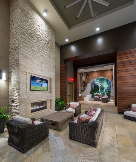 Lounge at Cambridge Park Apartment