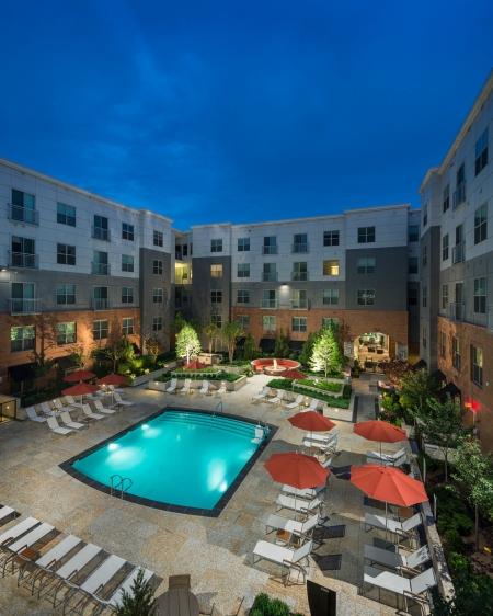 Resort Style Pool at Cambridge Park Apartment