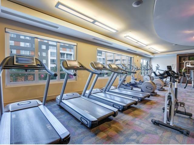 Fitness Centre at Cambridge Park Apartment
