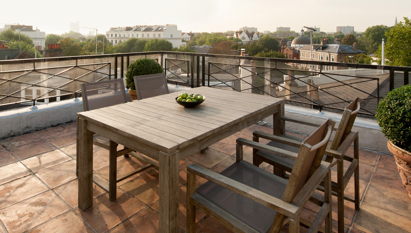 Terrace at Europa House Apartments