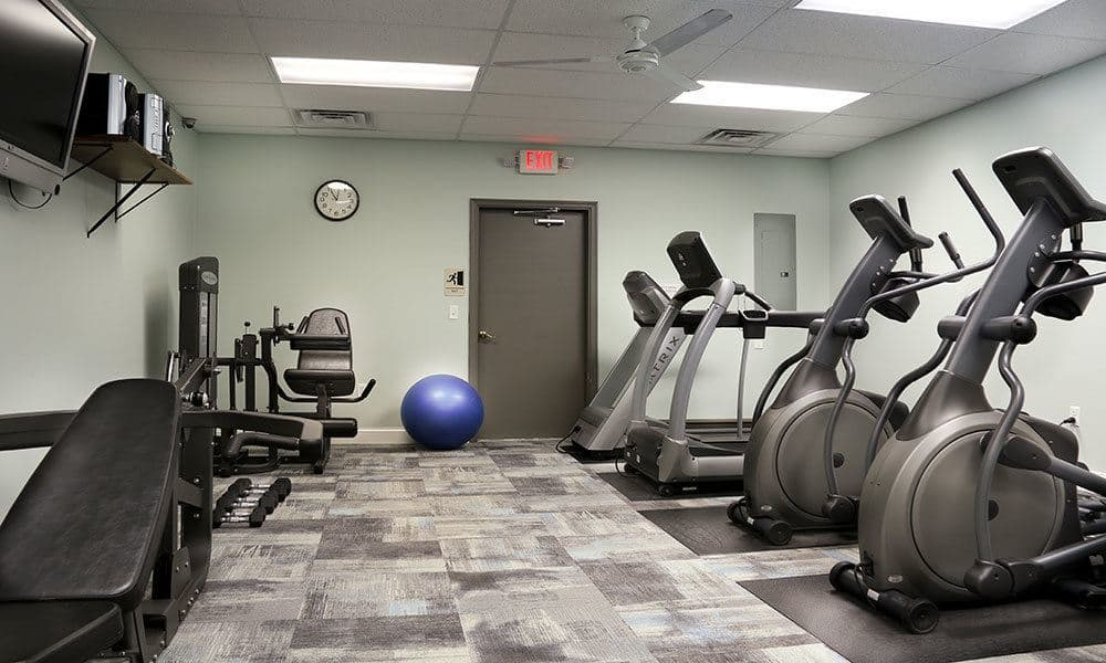 Fitness Centre at The View at Mackenzie Apartment