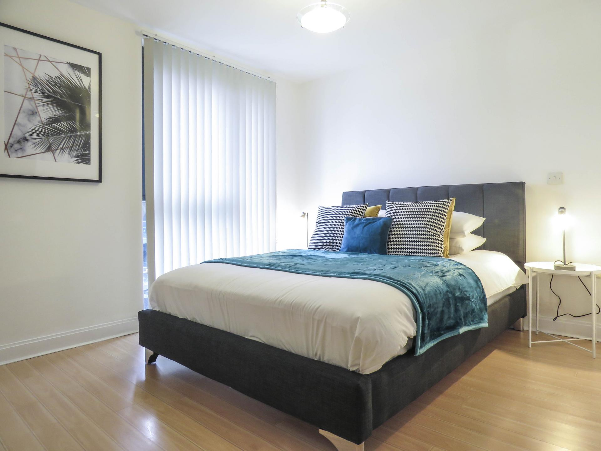 Bedroom at Southside Serviced Apartment