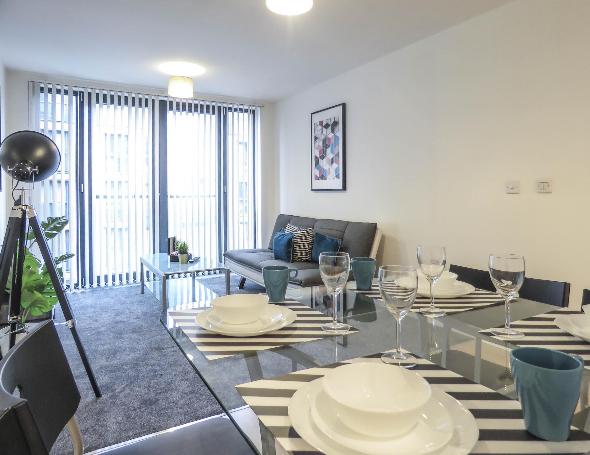 Dining area at Southside Serviced Apartment