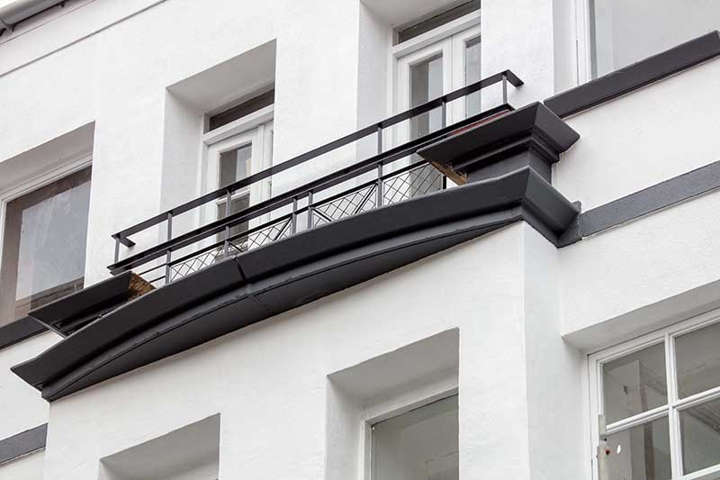 Balcony at Candleriggs Court Apartments