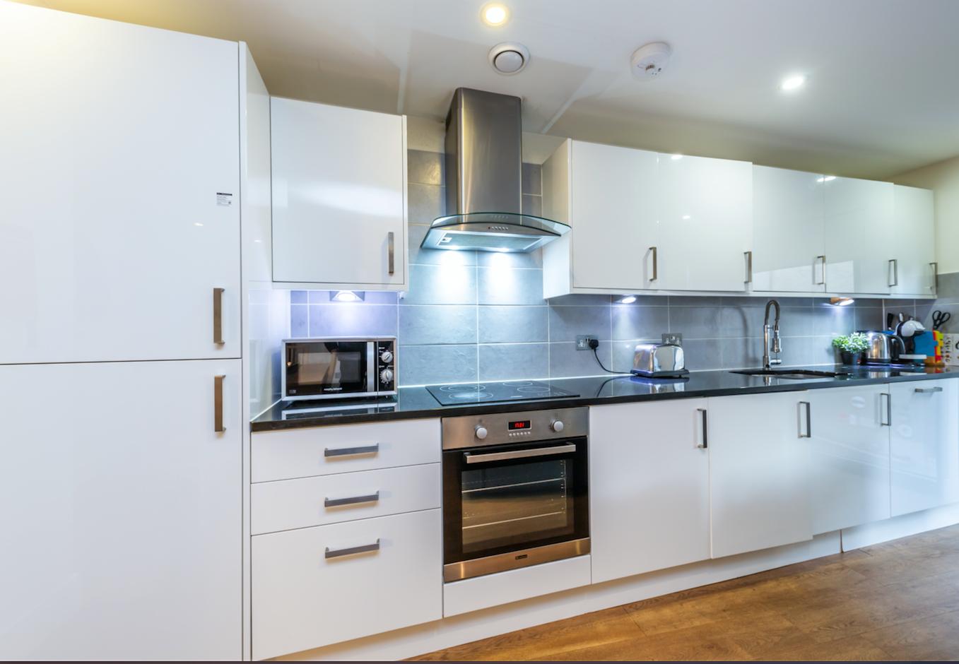 Kitchen at Redan Place Apartments