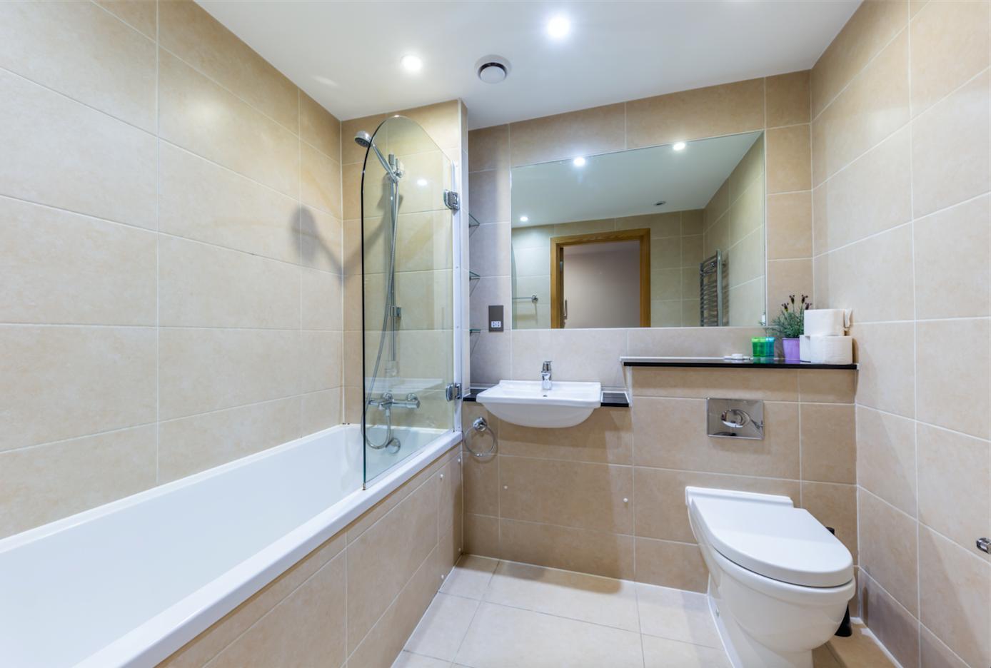 Bathroom at Redan Place Apartments