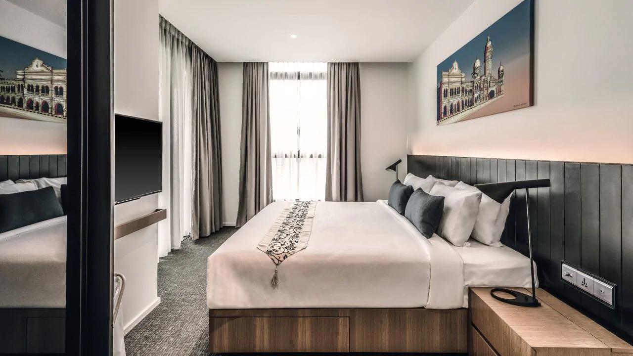 Bedroom at Hyatt House Kuala Lumpur