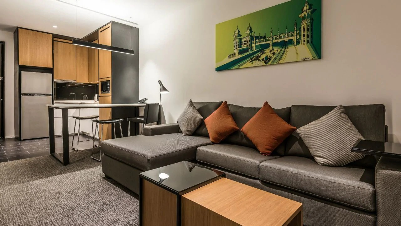 Living room at Hyatt House Kuala Lumpur