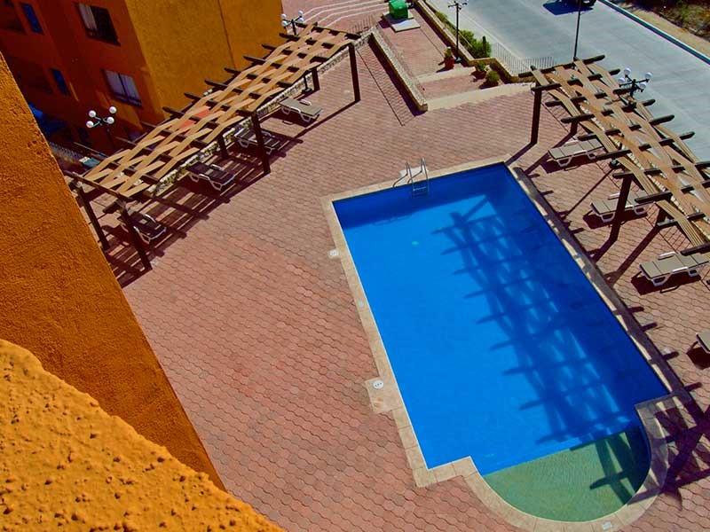 Pool at Sunrock Apartment