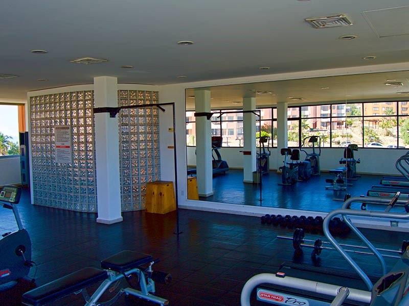 Gym at Sunrock Apartment