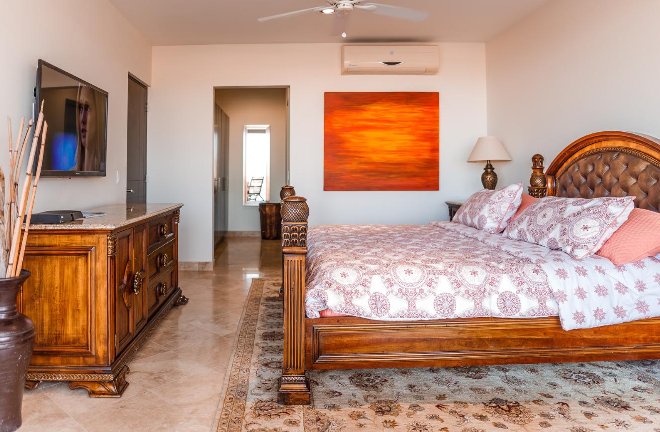 Bedroom at Cascadas De Pedregal Apartment