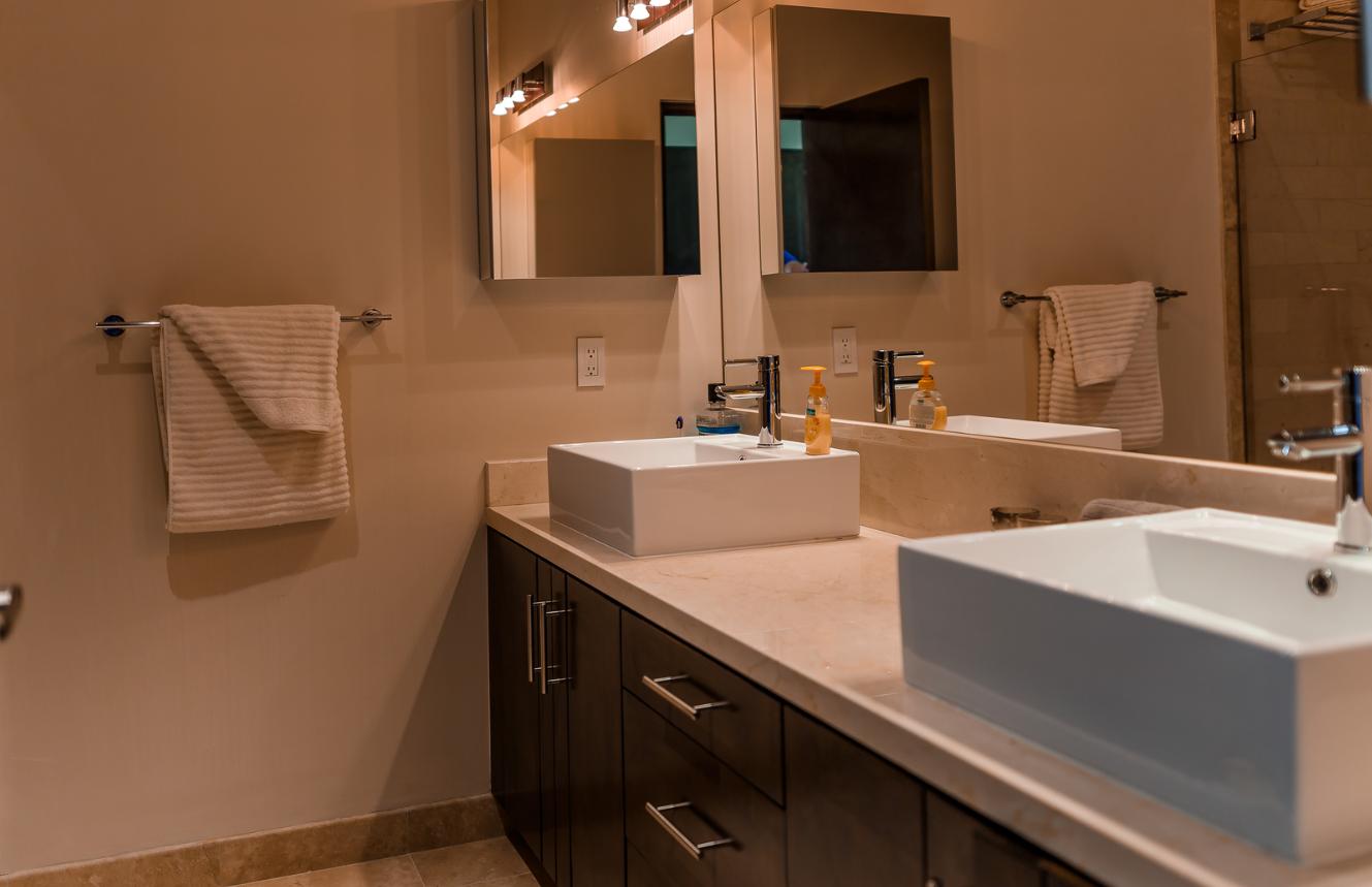 Bathroom at Cascadas De Pedregal Apartment