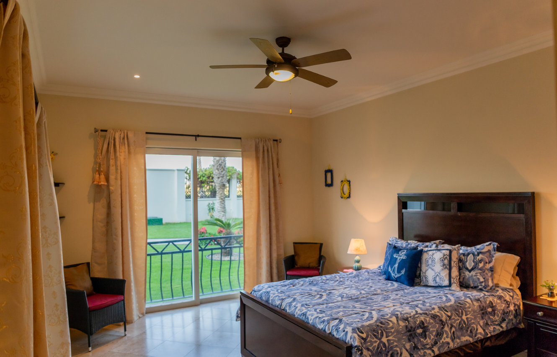 Bedroom at Puerta Cabos Village Apartment