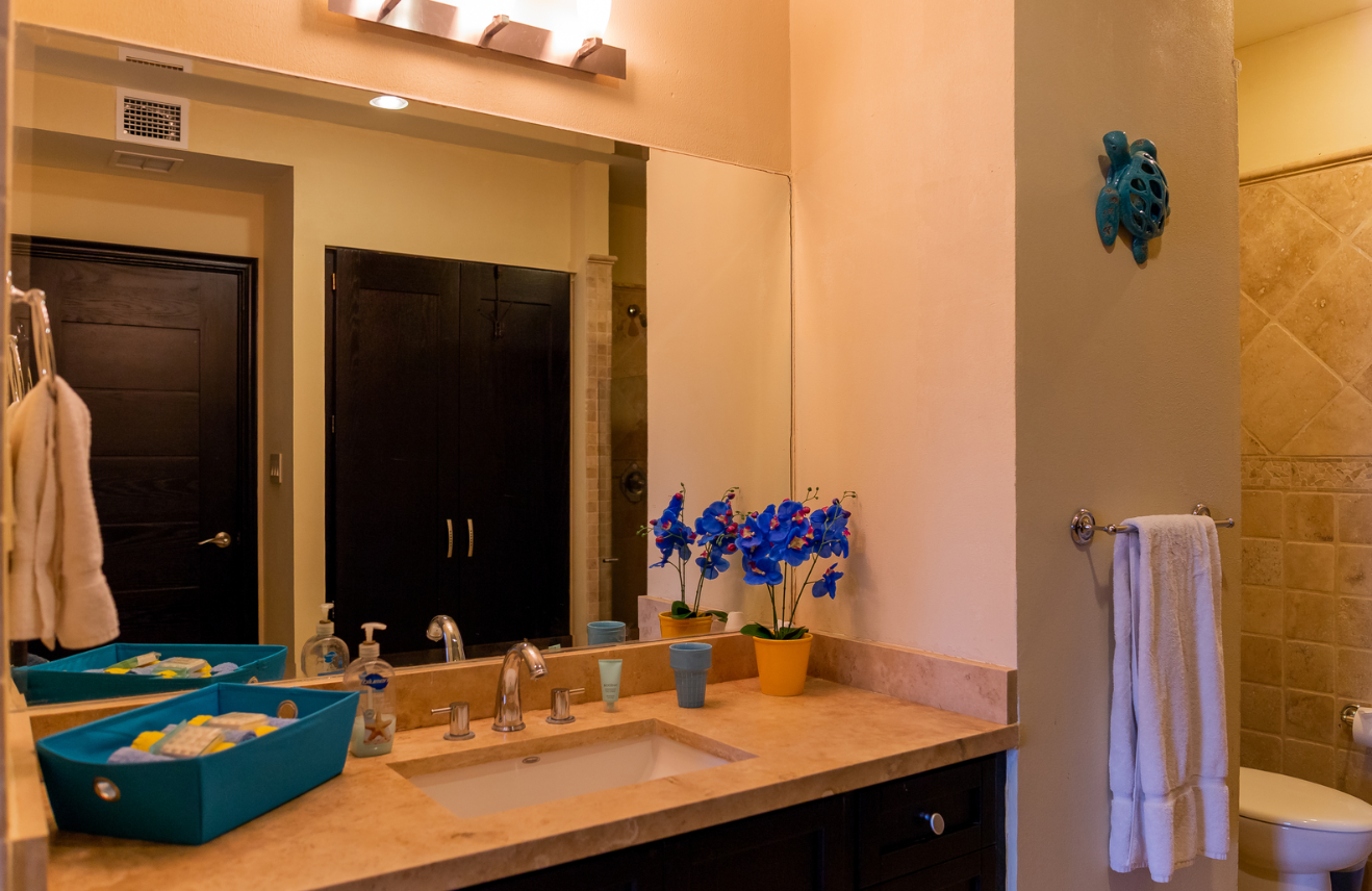 Sink at Puerta Cabos Village Apartment