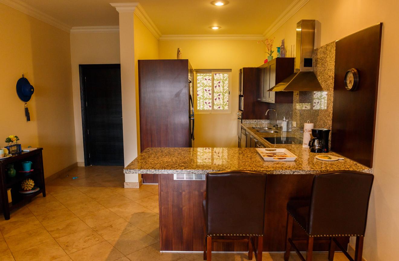 Kitchen at Puerta Cabos Village Apartment