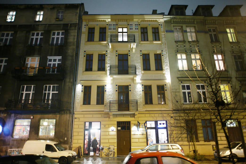 Exterior at Starowislna Apartments