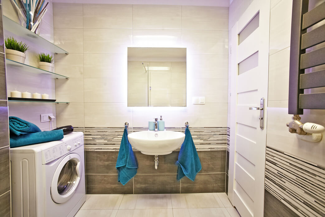 Bathroom at Starowislna Apartments