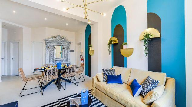 Living area at San Vincenzo Apartment