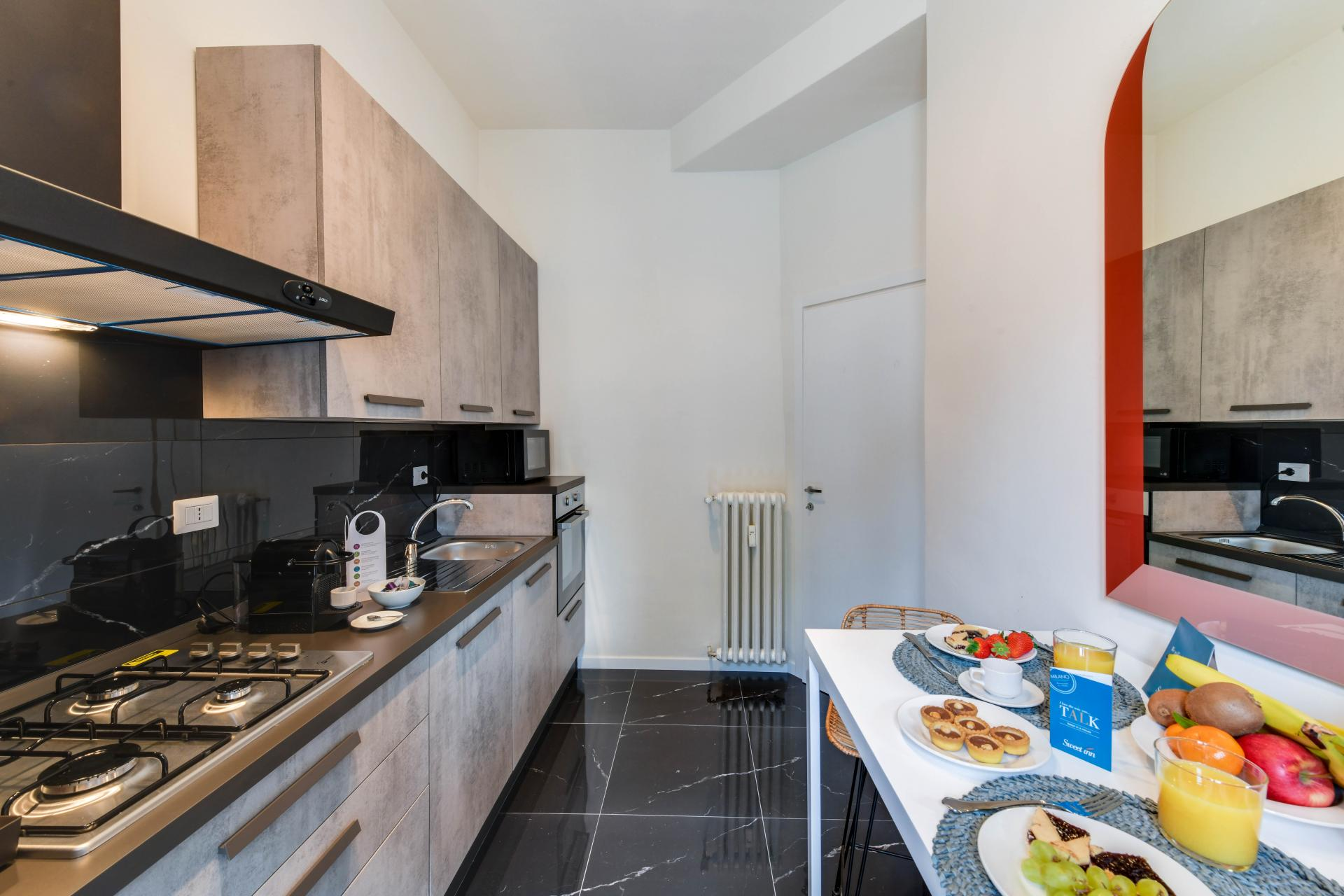 Kitchen at San Vincenzo Apartment