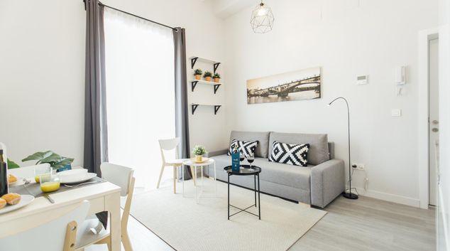 Living area at Galera Apartment