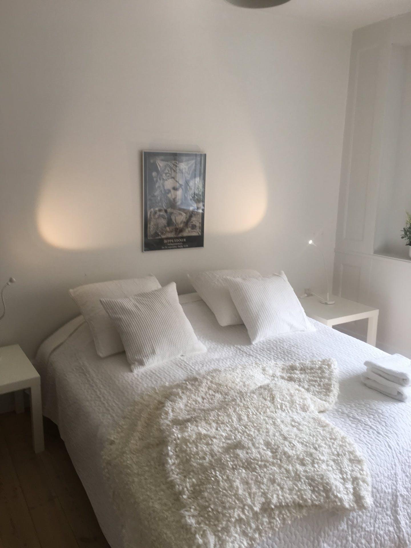 Bedroom at Nørrebrogade Apartments, Nørrebro, Copenhagen