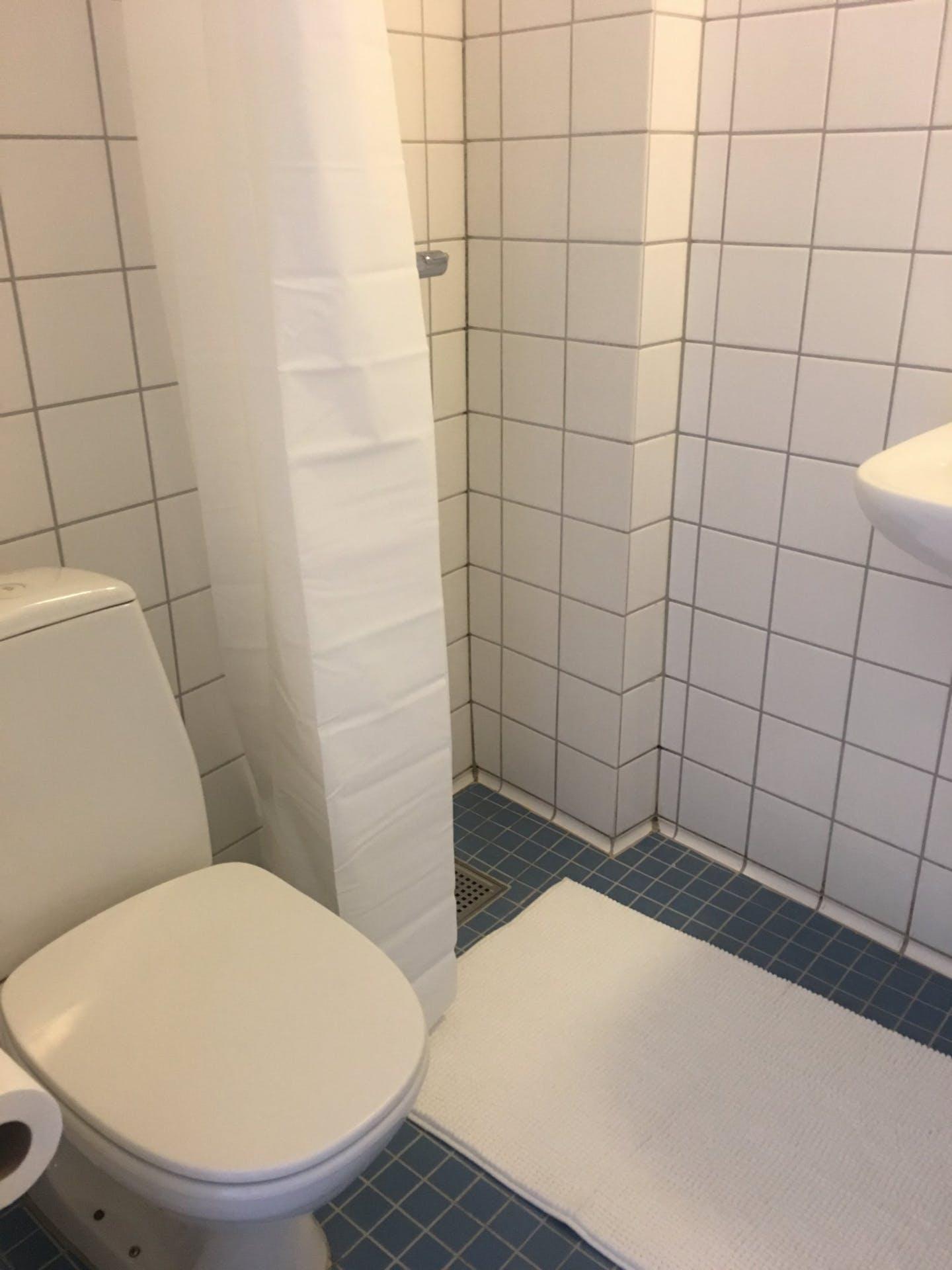 Bathroom at Nørrebrogade Apartments, Nørrebro, Copenhagen