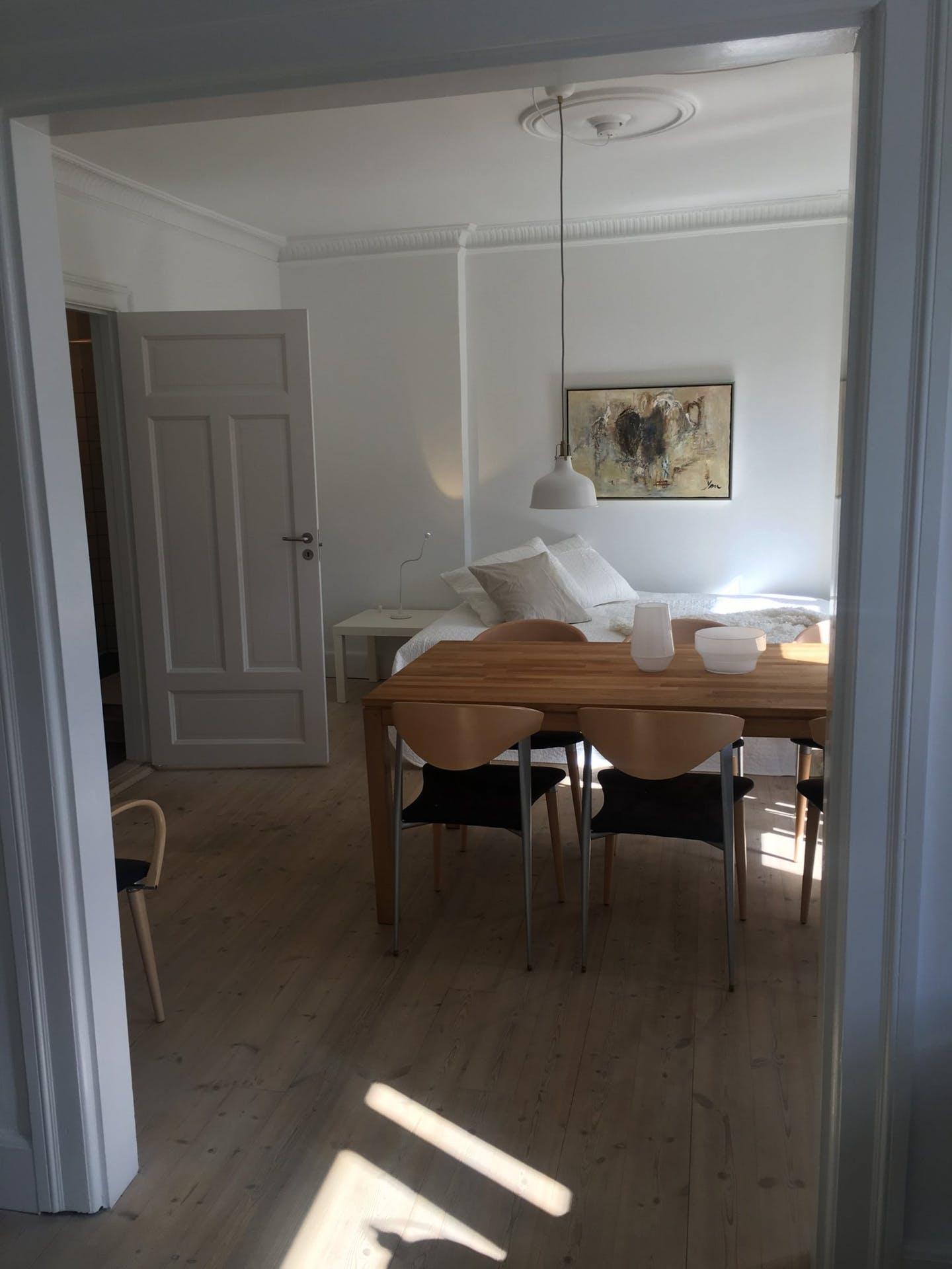 Dining area at Nørrebrogade Apartments, Nørrebro, Copenhagen