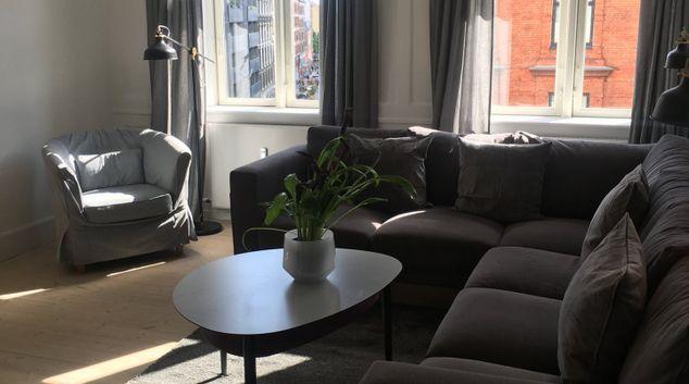 Living room at Nørrebrogade Apartments, Nørrebro, Copenhagen