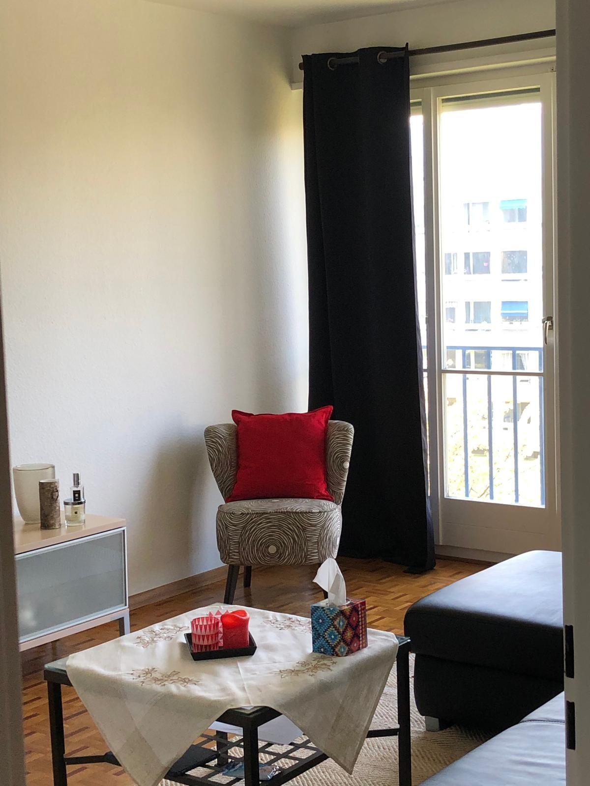 Lounge at Rue Gilbert Apartment