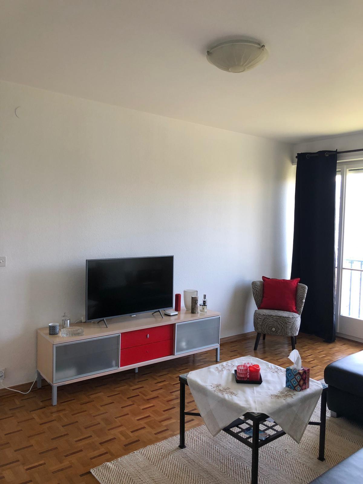 TV at Rue Gilbert Apartment