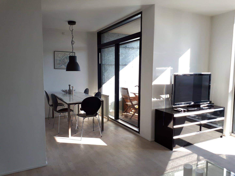 Living area at Dampfærgevej Apartment, Centre, Copenhagen