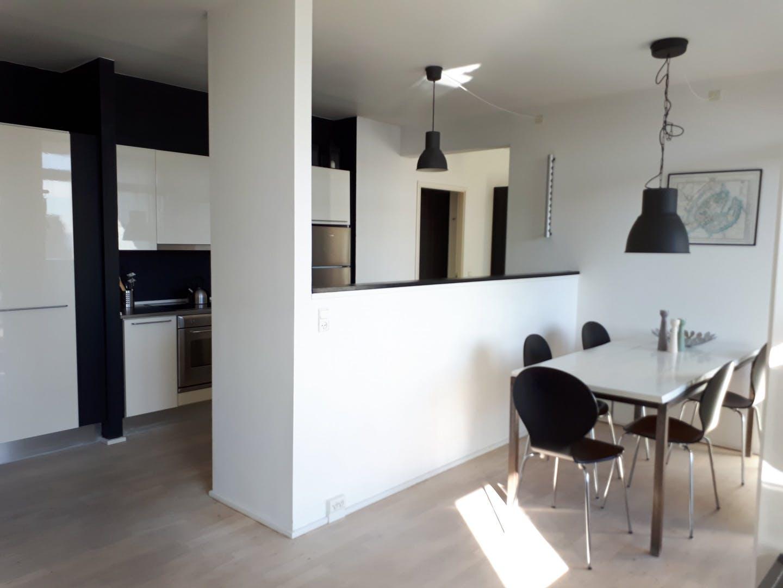 Dining area at Dampfærgevej Apartment, Centre, Copenhagen