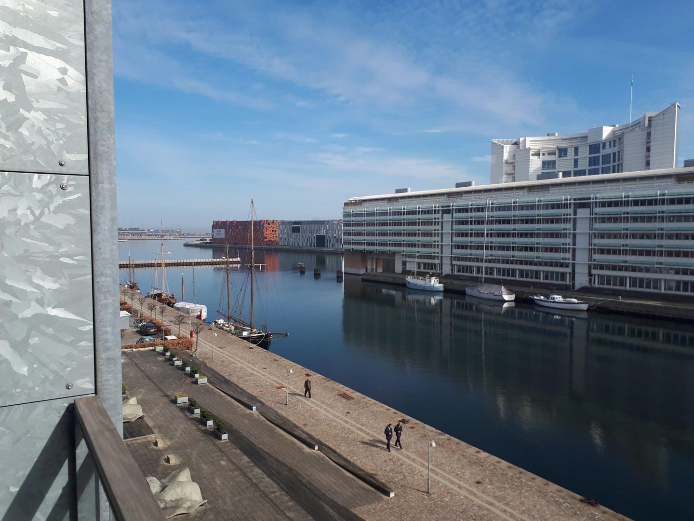 View from Dampfærgevej Apartment, Centre, Copenhagen