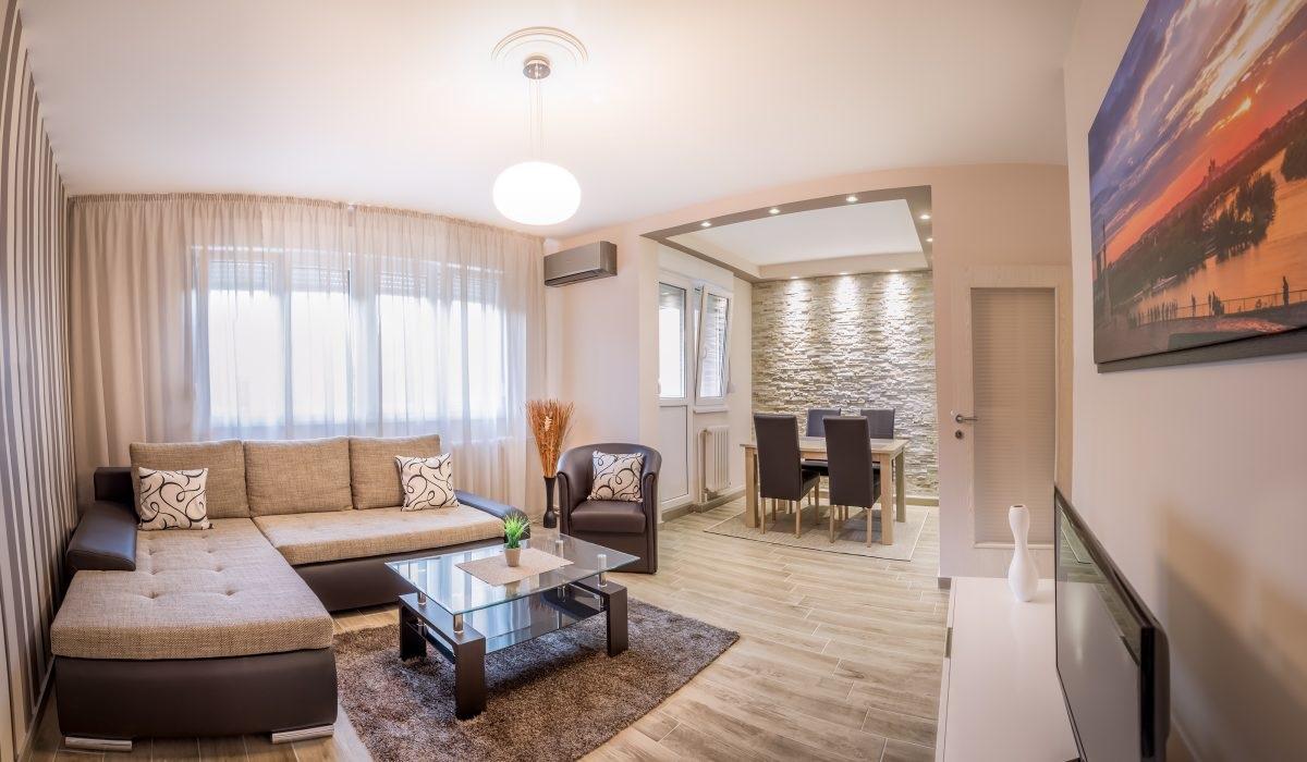 Living area at Dositejeva Apartment, Dorćol, Belgrade