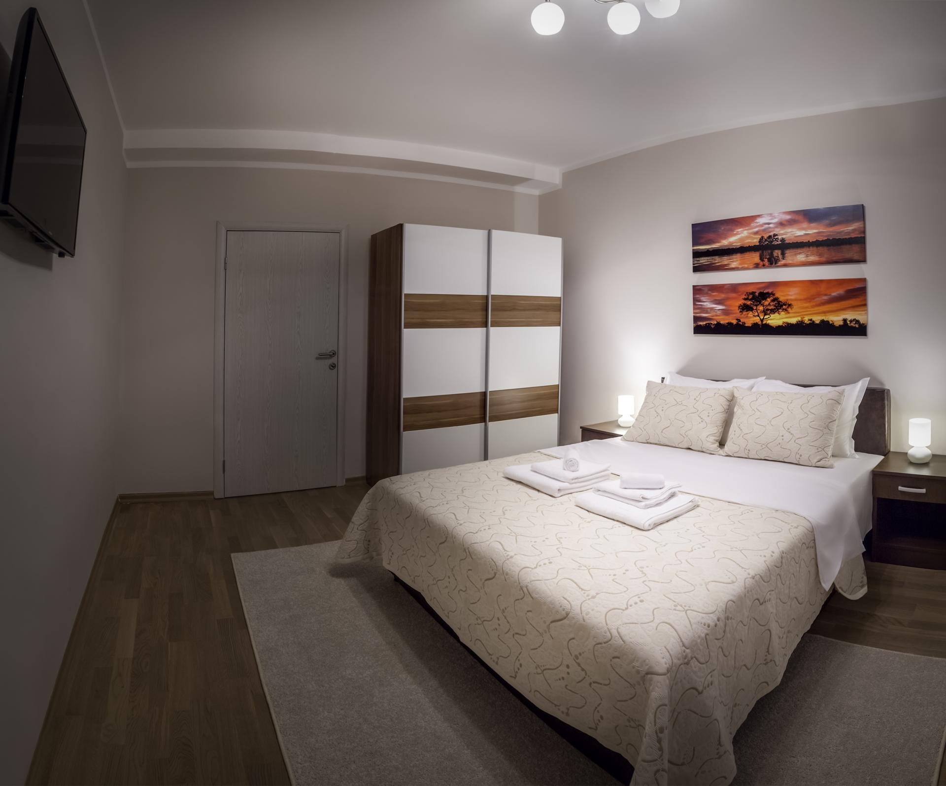 Bedroom at Dositejeva Apartment, Dorćol, Belgrade