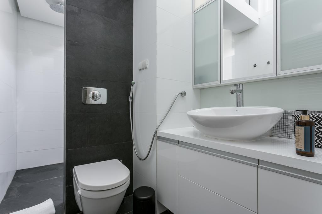 Bathroom at Mirowski Square Apartment
