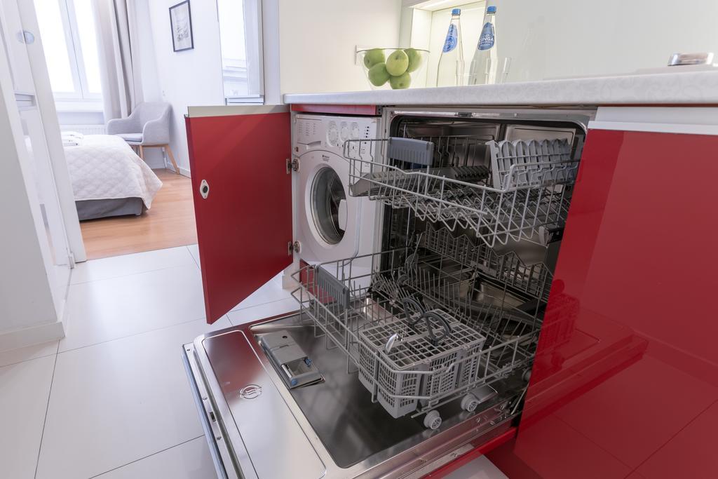 Dishwasher at Mirowski Square Apartment