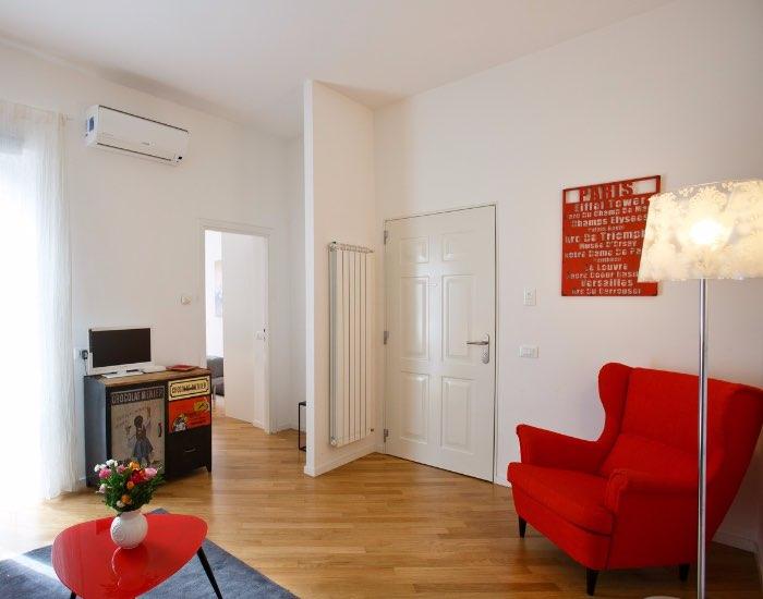 Living room at Little De Fiori Apartments