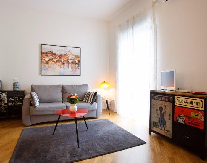 Sofa at Little De Fiori Apartments