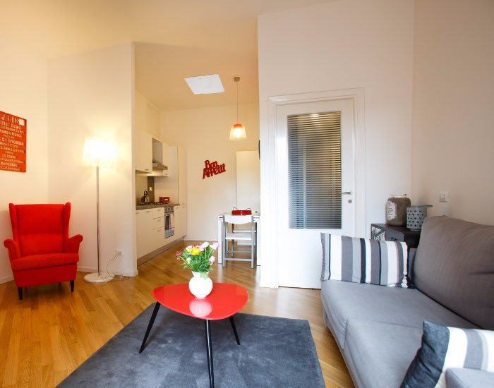 Lounge area at Little De Fiori Apartments