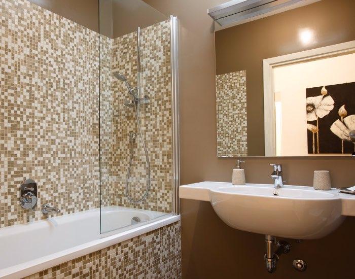 Bath at Little De Fiori Apartments