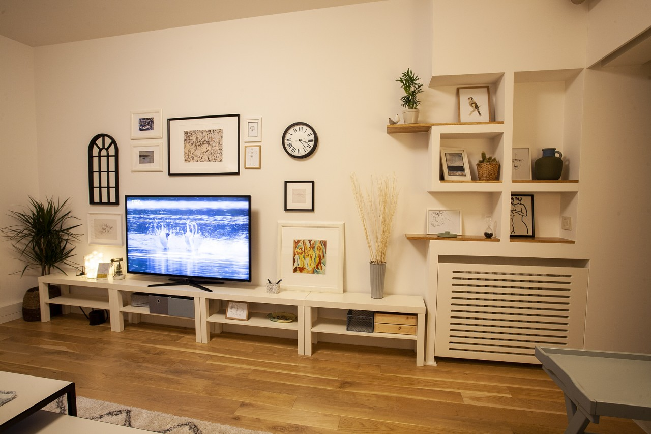 Pictures at White Apartment, Kosančićev Venac, Belgrade