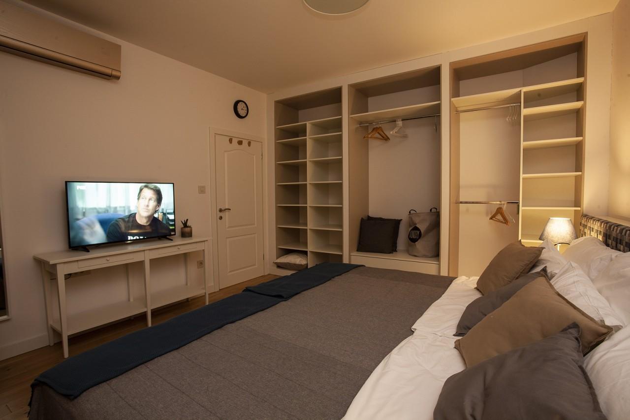 TV at White Apartment, Kosančićev Venac, Belgrade