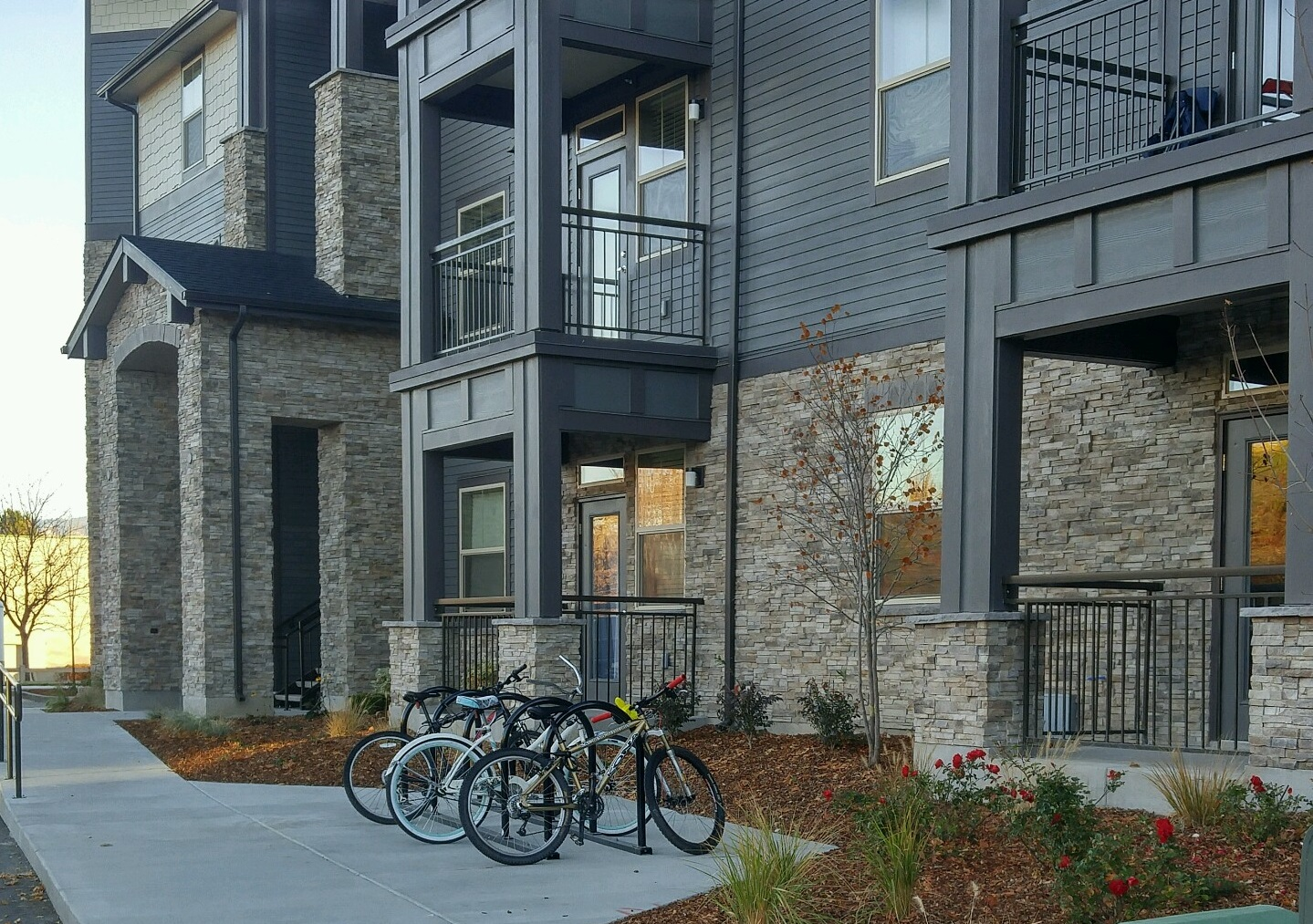 Exterior at The District Apartments