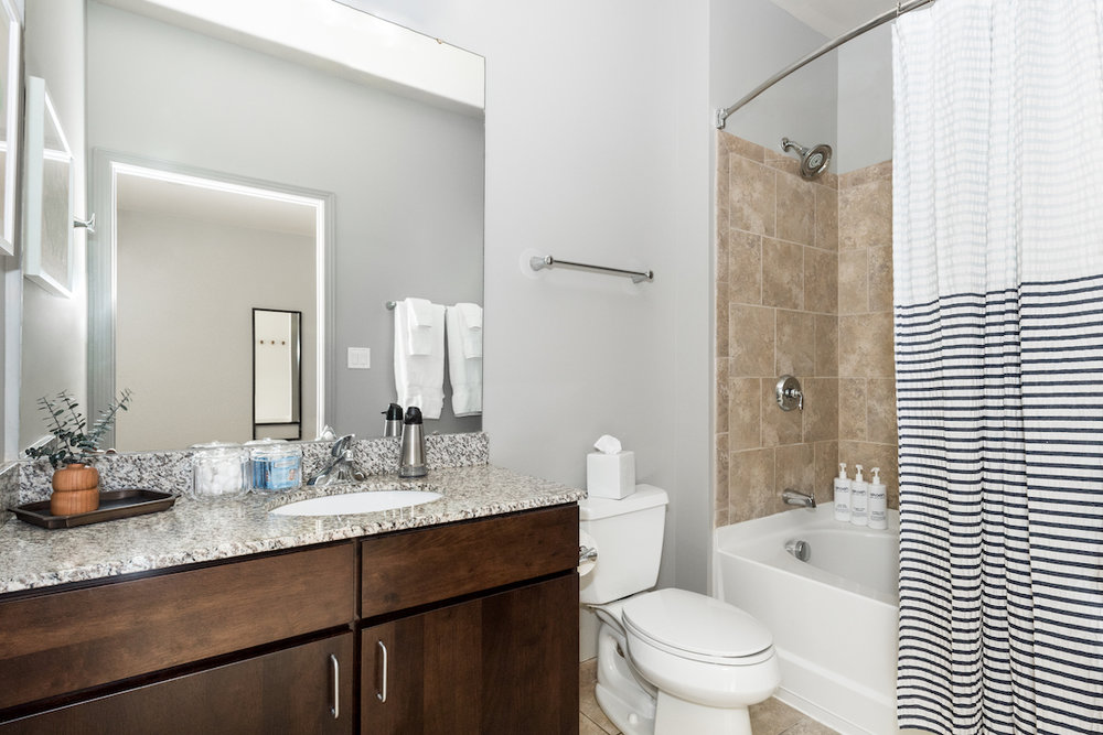 Bathroom at Cincinnati Apartments
