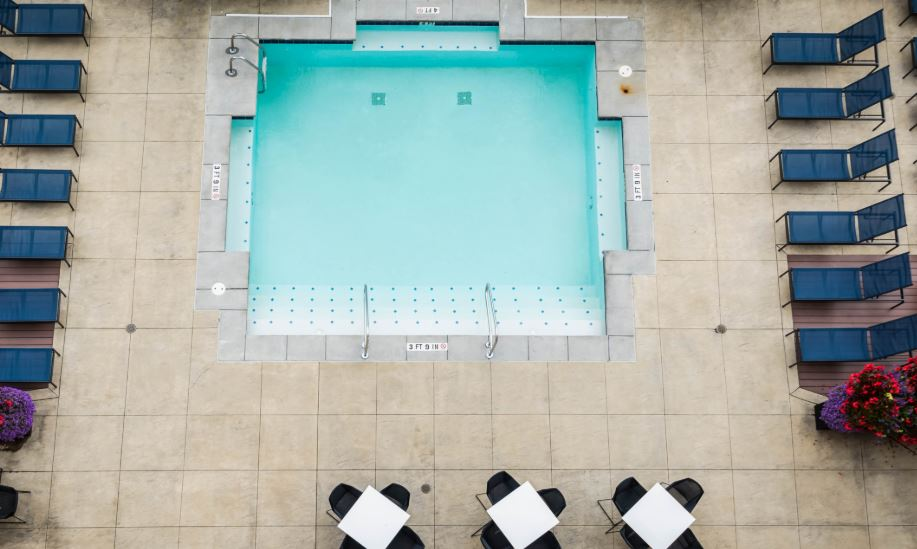 Pool at Cincinnati Apartments